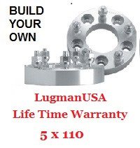 LugmanUSA Life Time Adapter - Build Your Own 5x110mm
