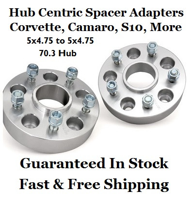 Wheel Adapter 5x4.75 to 5x120 Thickness 20mm Pair