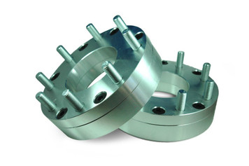 6x5.5 to 8x6.5 Wheel Adapter 2inch, (Pair of 2)