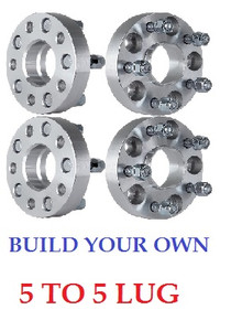 LugmanUSA  * Build Your Own 5-Lug Adapter * Hub Centric or Standard * Customize it Your Way!