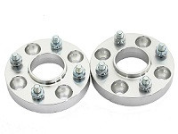 Hub Centric 4x100 to 4x100 Wheel Adapters (pair of 2) 1 Inch Thickness
