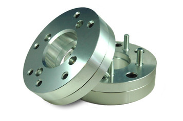 4x110 to 5x4.5 (5X114.3) 2-Piece Billet Adapters, pair of 2