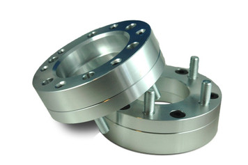 6x5.5 to 5x5 Wheel Adapter 2inch, (Pair of 2)