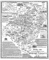 Map - Bedford County