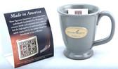 History Museum Mug: Gray Round