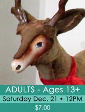 45 - Fantasyland 2019 - Adult ticket (ages 13+) Sat. 12/21/19 @ 12PM