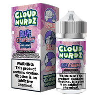 Cloud Nurdz 100ml Eliquid - Strawberry Grape