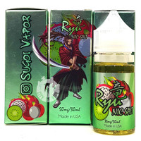 Sugoi Vapor 30ml Salt Nic Ejuice - Ryu