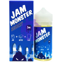 Jam Monster 100ml E-liquid - Blueberry