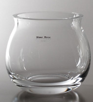Time Tree Turkish Glass Vase H14cm D16cm