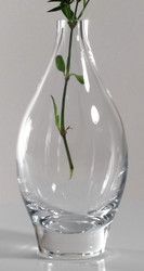 Time Tree Turkish Glass Bottle Vase H23cm D11cm 800cc