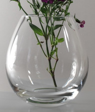 Time Tree Onion Turkish Glass Vase H19cm D18cm