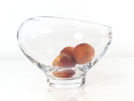 Time Tree Slit Cut Glass Bowl H20cm