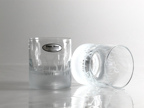 FLAMES whisky glass