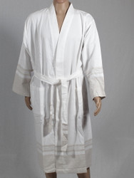 Lykia beige bathrobe