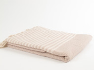 BASKET WEAVE Turkish Towel Beige