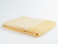 BASKET WEAVE Turkish Towel Yellow