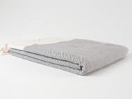 Diamond Turkish Towel Gray