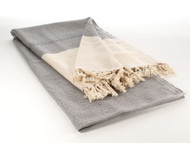 Diamond Throw Blanket Gray