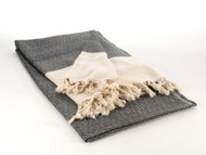 Diamond Throw Blanket Black