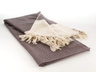 Diamond Throw, Blanket, Brown