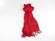 River Shawl Scarf Red