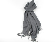 River Shawl Scarf Gray