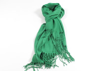 River Shawl Scarf Green
