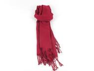 River Shawl Scarf Bordeaux