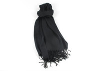 River Shawl Scarf Black