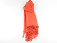 River Shawl Scarf Orange