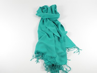 River Shawl Scarf Mint