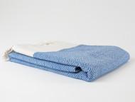 Diamond Turkish Towel Navy Blue
