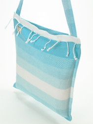 TANGO Turkish Towel Bag Turquoise