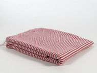 Mulberry Turkish Towel Peshtemal Red