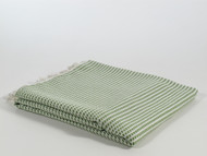 Mulberry Turkish Towel Peshtemal Green
