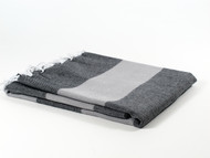 Dusk Turkish Towel Peshtemal Gray