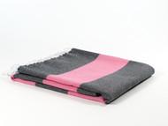 Dusk Turkish Towel Peshtemal Pink