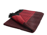 Diamond Double Throw, Blanket, Red