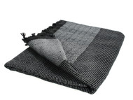 Diamond Double Throw, Blanket, Silver