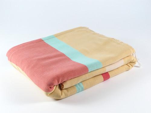 RAINBOW Terry Towel, Yellow