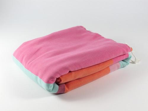 RAINBOW Terry Towel, Orange