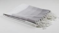 Tango Turkish Towel, Peshtemal, Grey