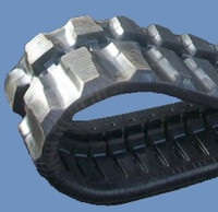 Yanmar Vio55V Rubber Track Assembly - Single 400 X 75.5 X 74