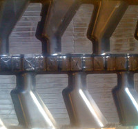 Komatsu PC28 Rubber Track Assembly - Pair 300 X 52.5 X 80
