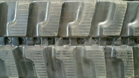 Komatsu PC45 Avance R Rubber Track Assembly - Pair 400 X 72.5 X 72