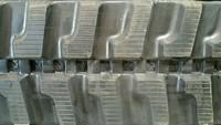 Komatsu PC45R Utility Rubber Track Assembly - Pair 400 X 72.5 X 72