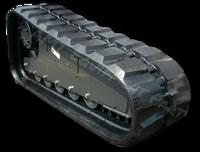 Komatsu SK820B VTS Rubber Track Assembly - Pair 320 X 86 X 54