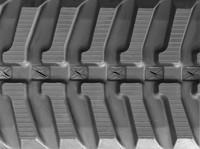 Atlas 1004 Rubber Track Assembly - Single 250 X 72 X 50