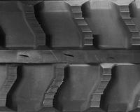 Baraldi MiniDig Rubber Track Assembly - Single 180 X 72 X 34